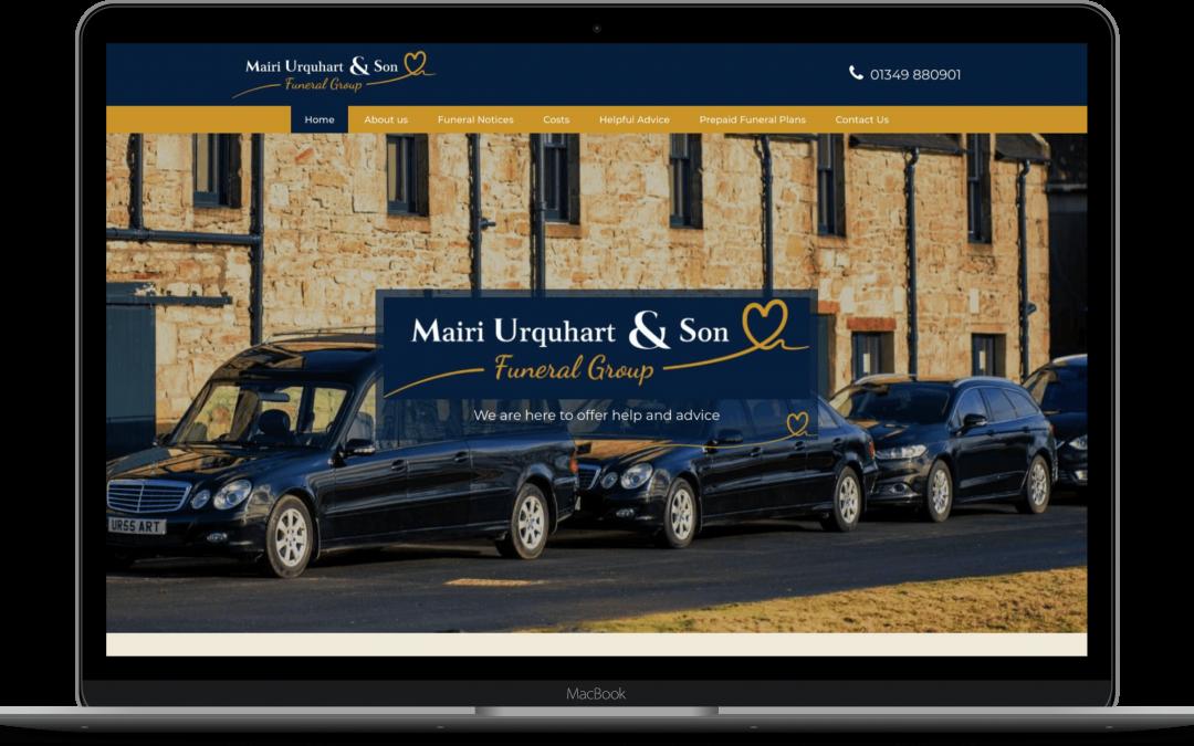 Mairi Urquhart & Son Funeral Group